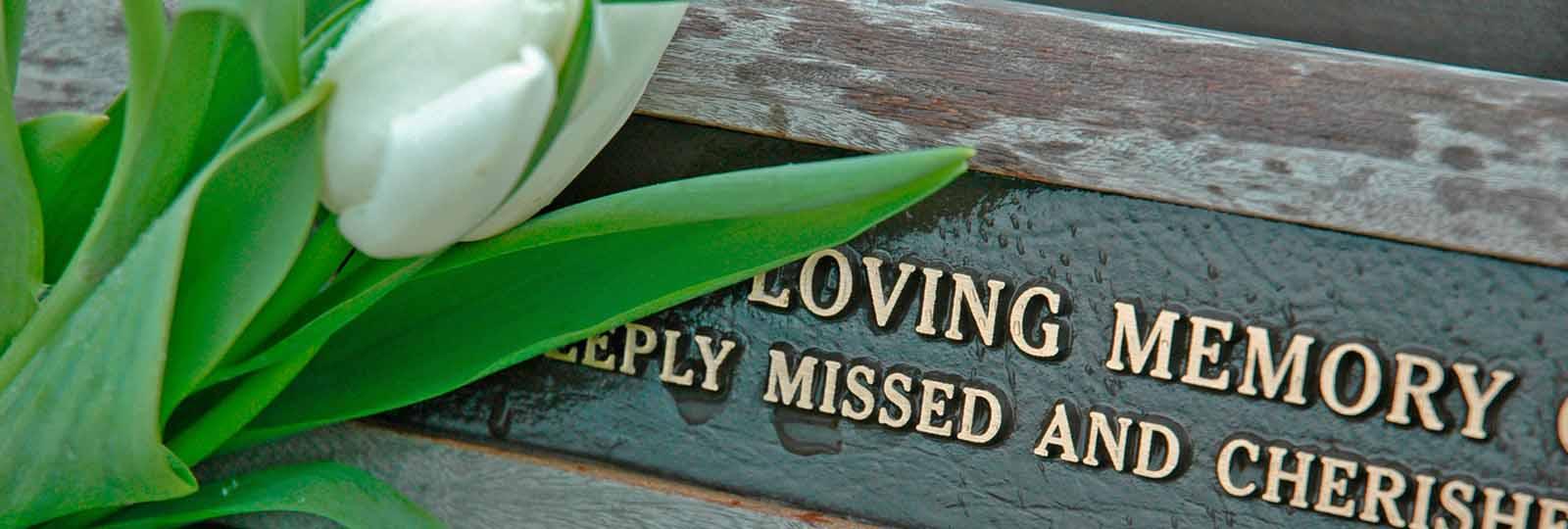 In loving memory memorials
